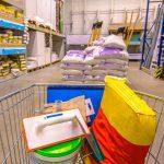 Ladungssicherung im Baumarkt