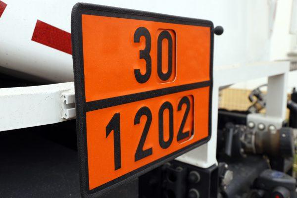 Orange Warntafeln und die Bedeutung der Ziffern
