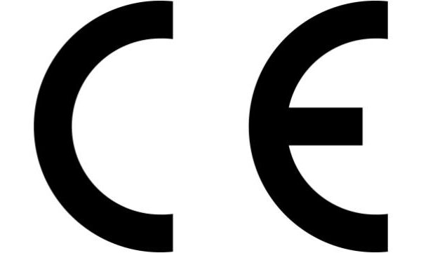CE- Kennzeichen auf dem Etikett!